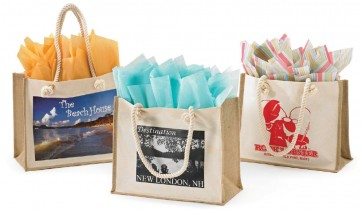 Resort Canvas Jute Shopping Bags