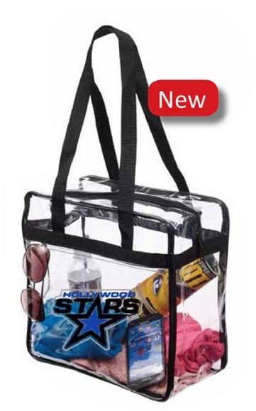 NFL Approved Clear Stadium Tote