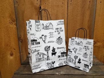 Farm Life Paper Bags