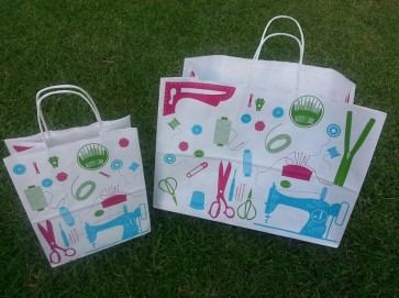 Hip Quilter Paper Bags