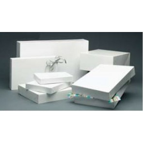 Apparel Boxes - White Alligator Embossed & Gloss