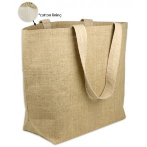 Burlap Beach Bags