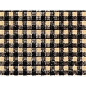 Black Gingham Tissue