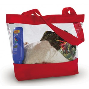 Clear Vinyl Tote Bags