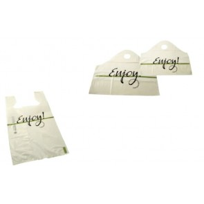 """Enjoy"" Restaurant Bags"