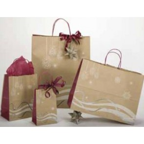 Holiday Breeze Christmas Shopping Bags