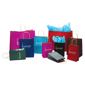 Natural Smooth Shopping Bags
