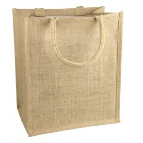 Burlap Shopping Totes